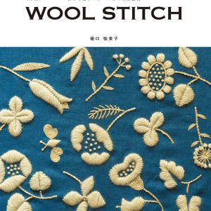 Embroidery design of simple and gentle wool yarn by Yumiko Higuch