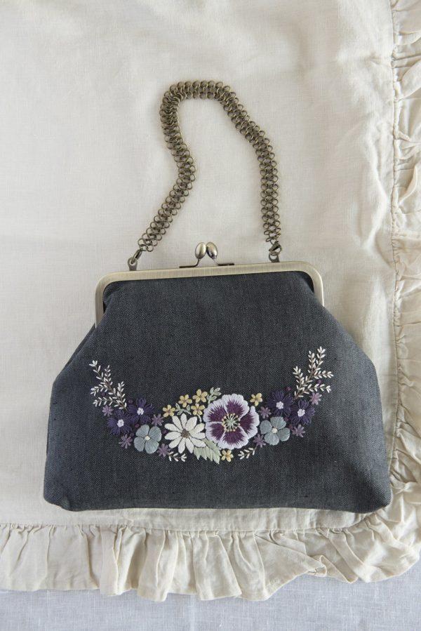 Chic Flower Embroidery by Wakako Horai