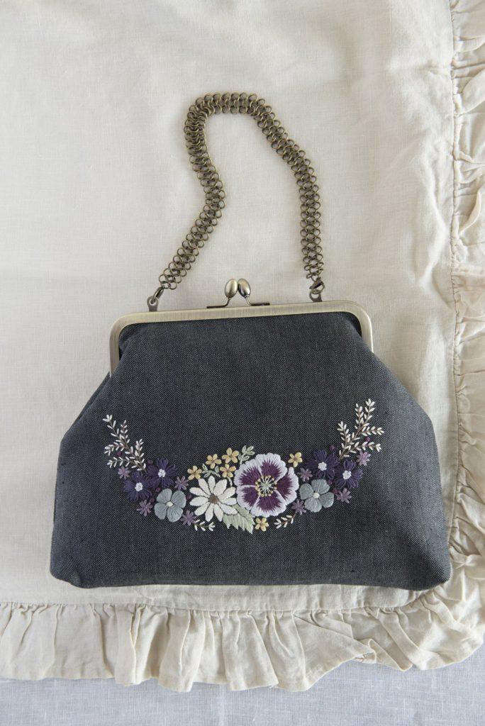 Chic Flower Embroidery by Wakako Horai
