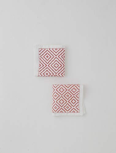 Colorful and lovely sashiko towels and accessories by sashikonami